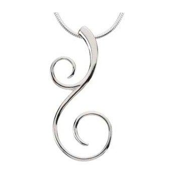 Scroll Fashion Necklace