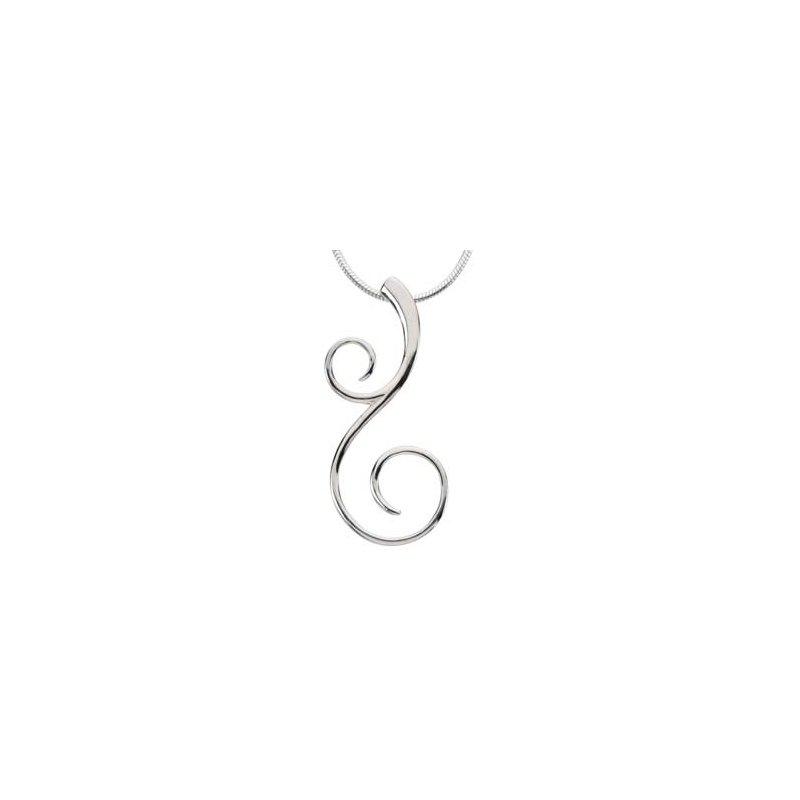Ladies' Jewelry Scroll Fashion Necklace