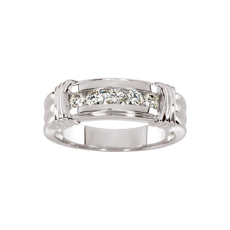 Men's Jewelry Moissanite Men's Band Ring