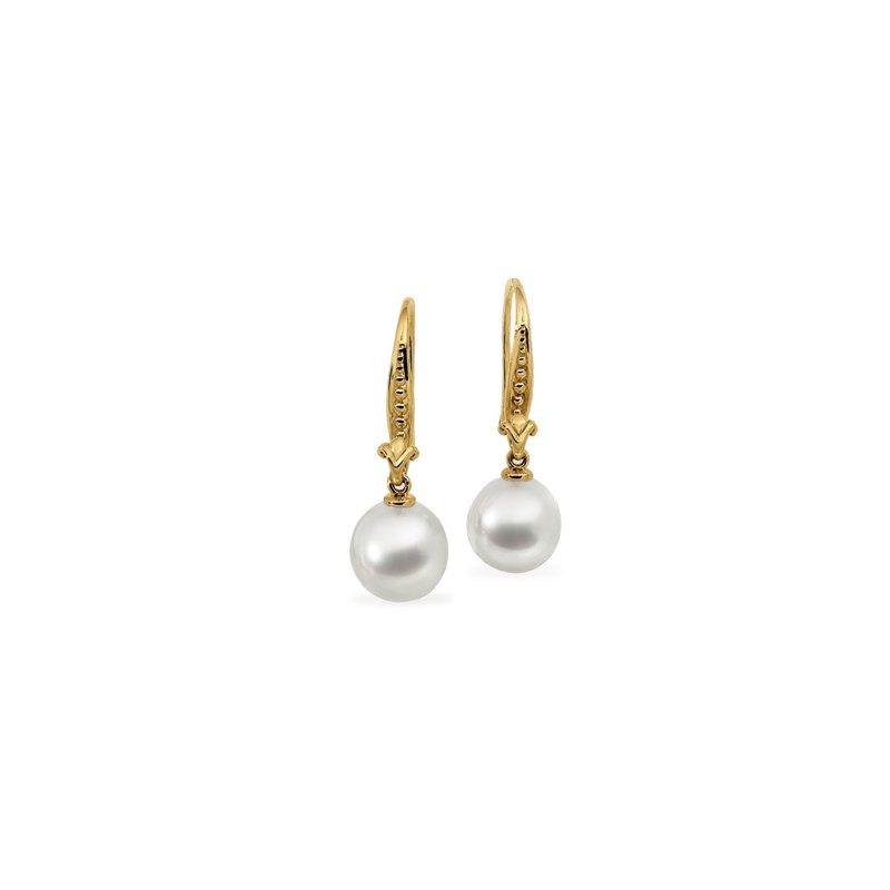 Ladies' Jewelry South Sea Cultured Pearl Earrings