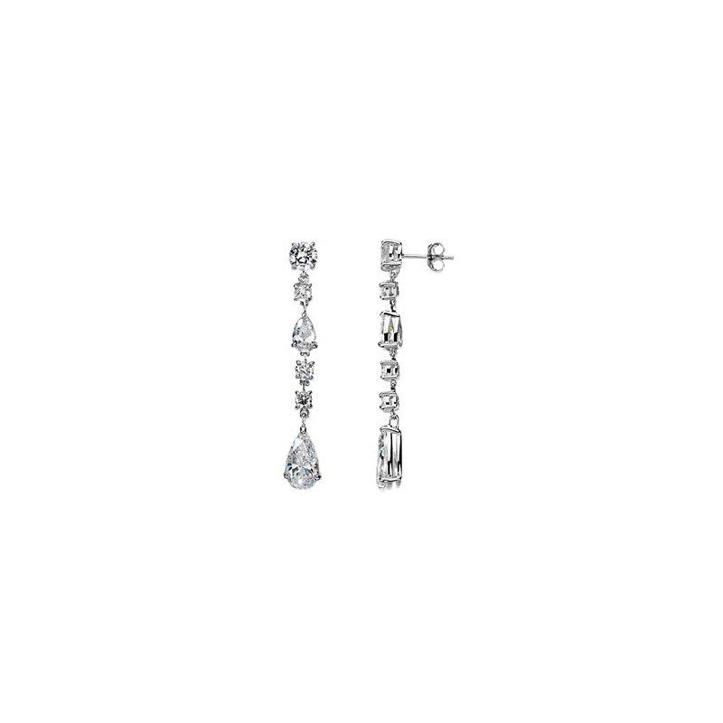 Ladies' Jewelry Cubic Zirconia Earrings