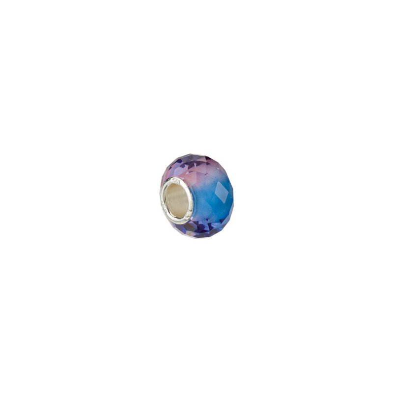 Holiday Ideas Kera Blue & Purple Faceted Glass Bead