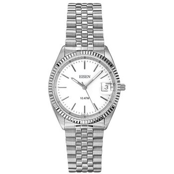 Eisen Lady's Stainless Steel Quartz Wrist Watch