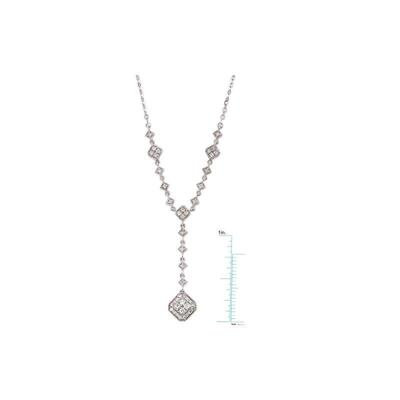 Ladies' Jewelry Diamond Fashion Necklace