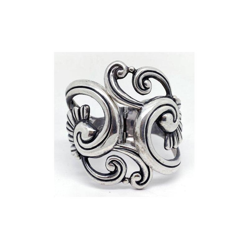 Vintage Silver Vintage Mexican sterling silver bracelet