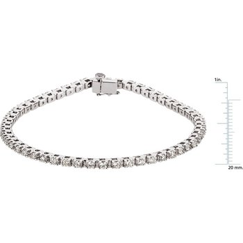 Diamond Tennis Line Bracelet
