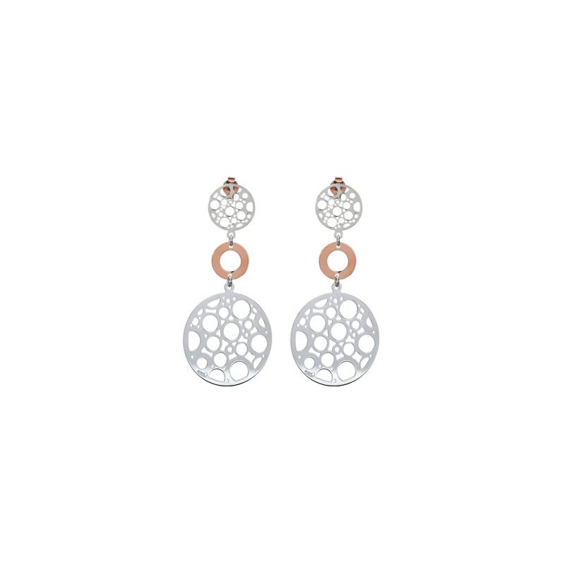 Holiday Ideas Bronze Plated Sterling Silver Fashion Earrings w/backs