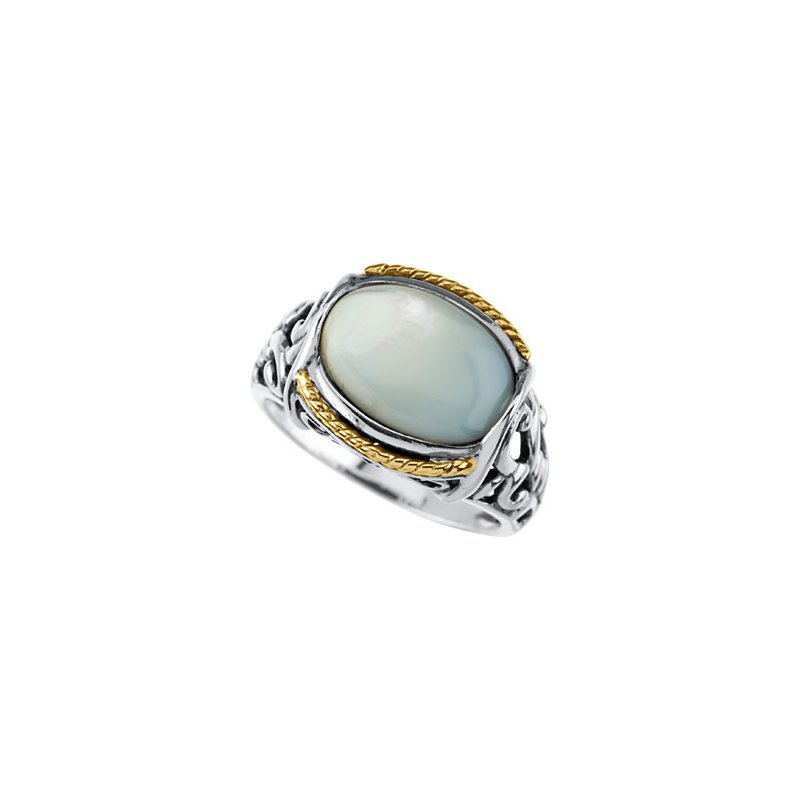 Holiday Ideas Genuine Mother of Pearl Ring