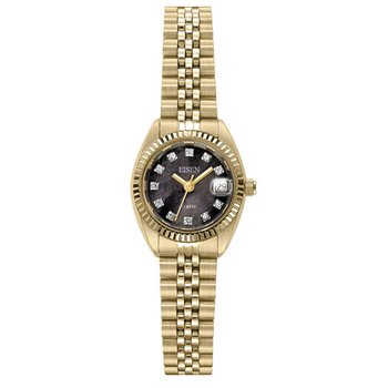 Eisen Lady's Gold Tone Quartz Wrist Watch