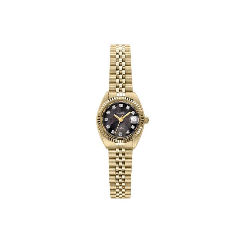 Eisen Watches Eisen Lady's Gold Tone Quartz Wrist Watch