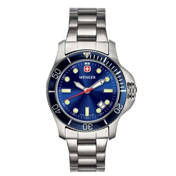 Wenger Ladies Blue Battalion III Diver Watch