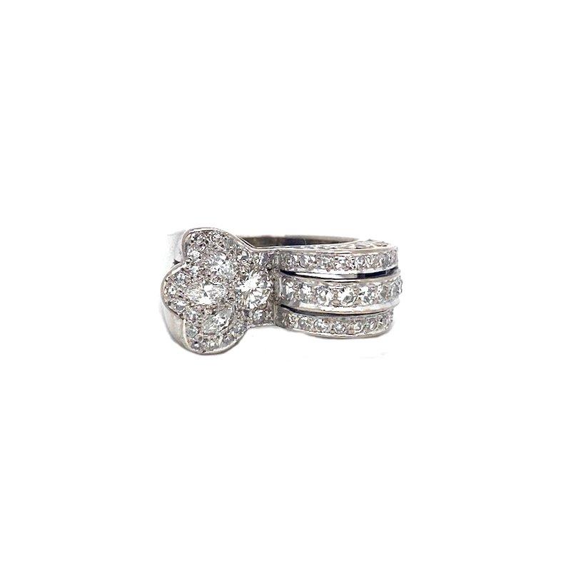 Estate & Vintage Vintage bridal, Art Deco design ring