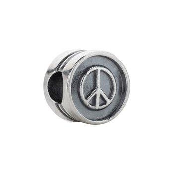 """Kera """"Peace"""" Symbol Bead"""