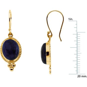 Genuine Lapis Earrings