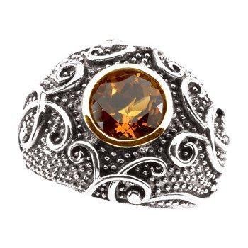 Genuine Madeira Citrine Ring