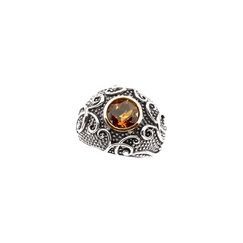 Ladies' Jewelry Genuine Madeira Citrine Ring