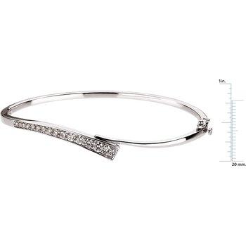 Journey Diamond Bangle Bracelet