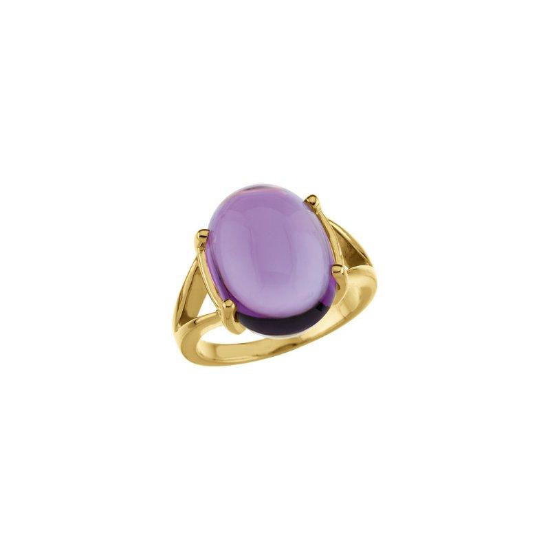 Holiday Ideas Genuine Amethyst Ring