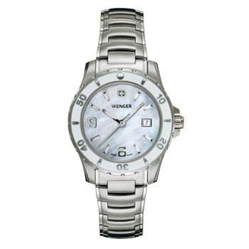 Wenger Ladies White Sport Watch