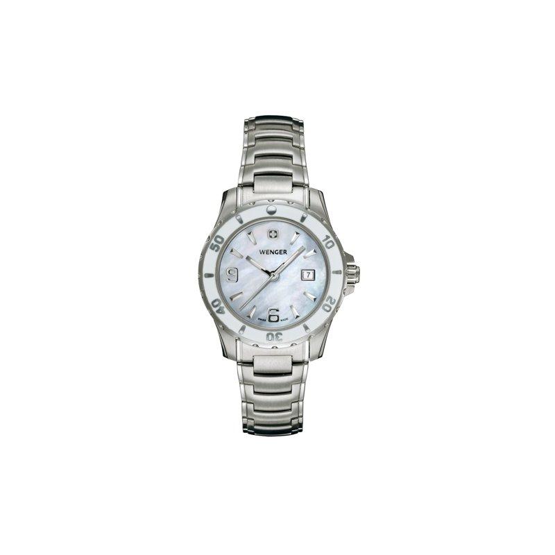Eisen Watches Wenger Ladies White Sport Watch
