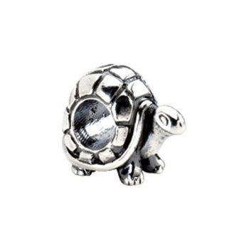 Kera Sterling Silver Turtle Bead