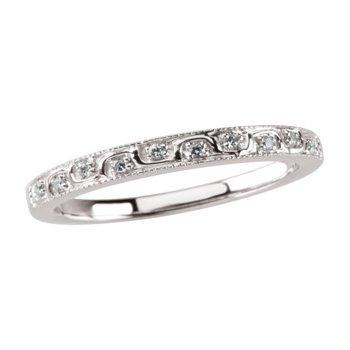 .07 ct tw Diamond Wedding Band