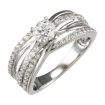 Semi-Mount Engagement Ring Base