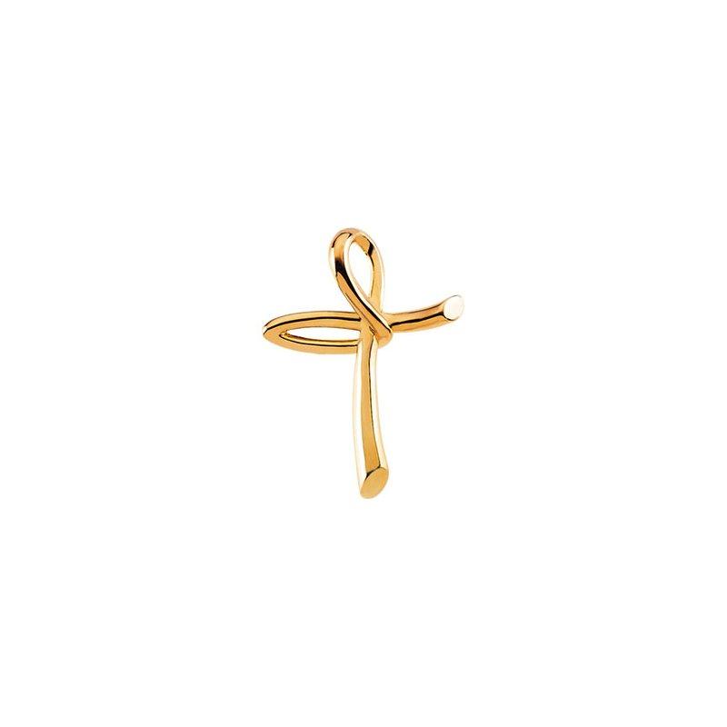 Religious Jewelry Modern Cross Pendant