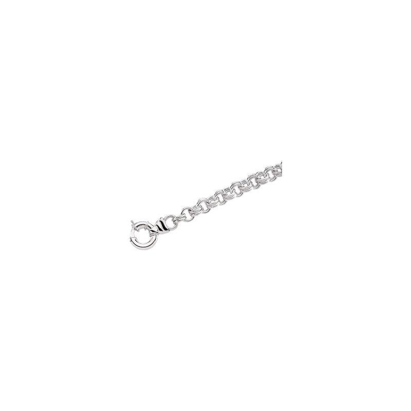 Ladies' Jewelry Double Cable Bracelet
