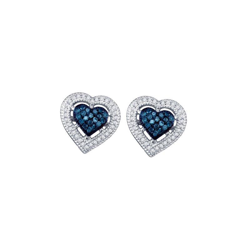 Valentine Gift Ideas Diamond Heart Earrings