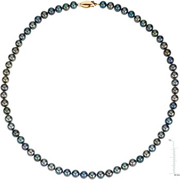 16-inch Freshwater Black Cultured Pearl Strand