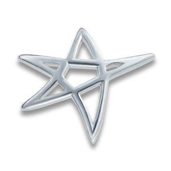 Heartbeat of El Paso Collection: Star on the Mountain™ Silver Pendant in 4 Sizes
