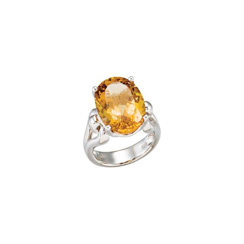 Holiday Ideas Genuine Honey Quartz Ring