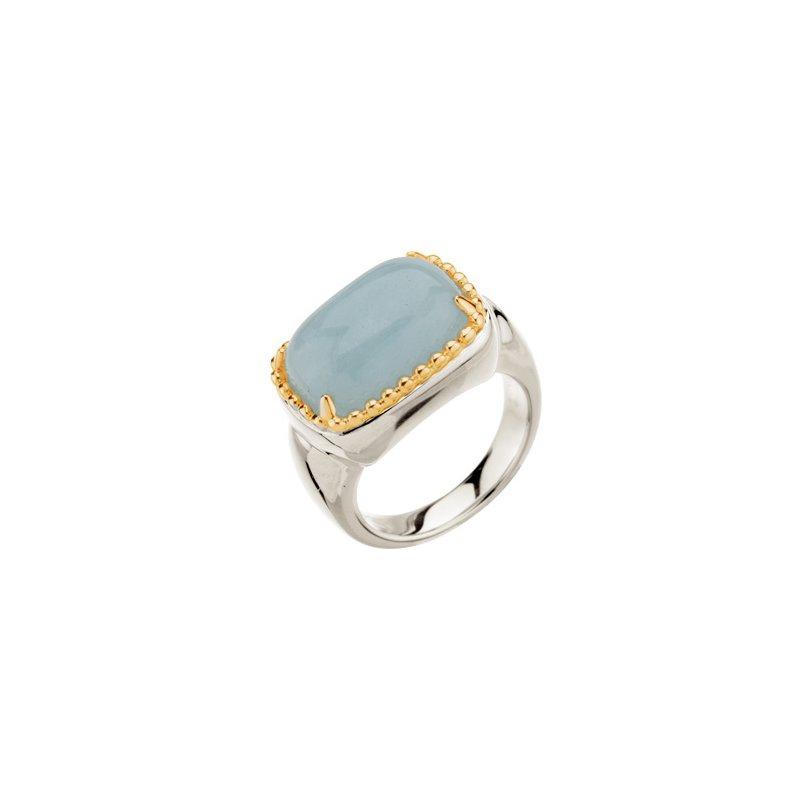 Holiday Ideas Genuine Aquamarine Ring