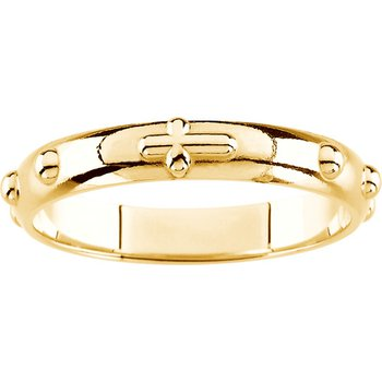 Rosary Ring - Sizes 9-12 1/2