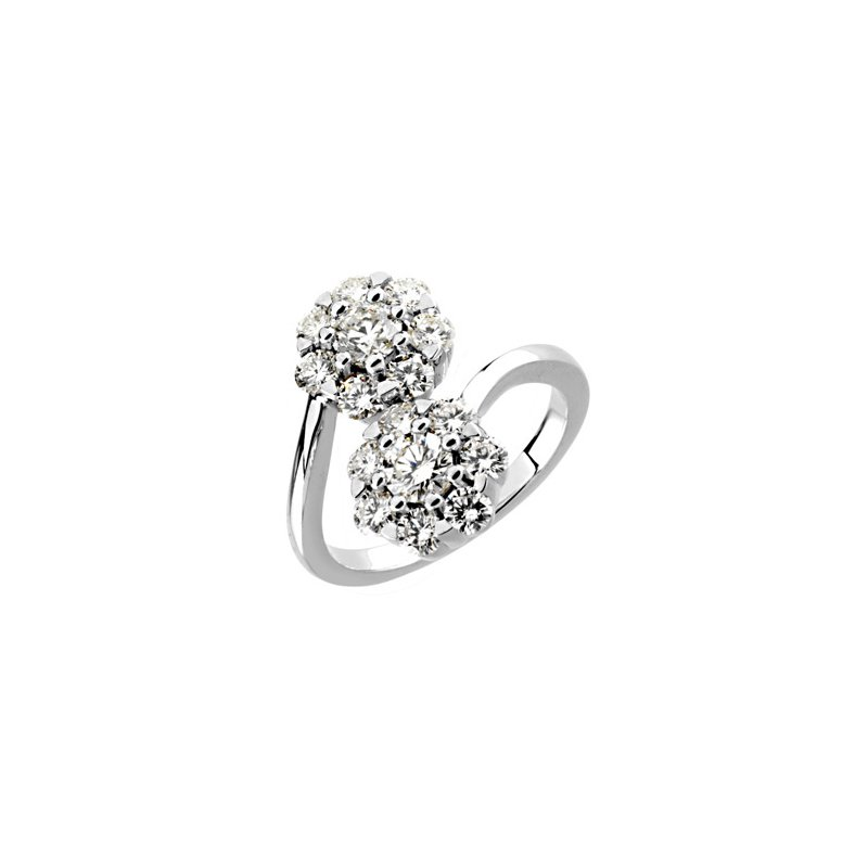 Holiday Ideas 2 ct tw Diamond Cluster Ring