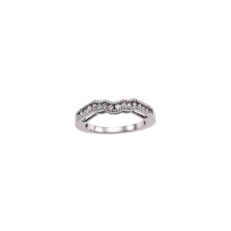 Susan Eisen 1/4 ct tw Diamond Wedding Band