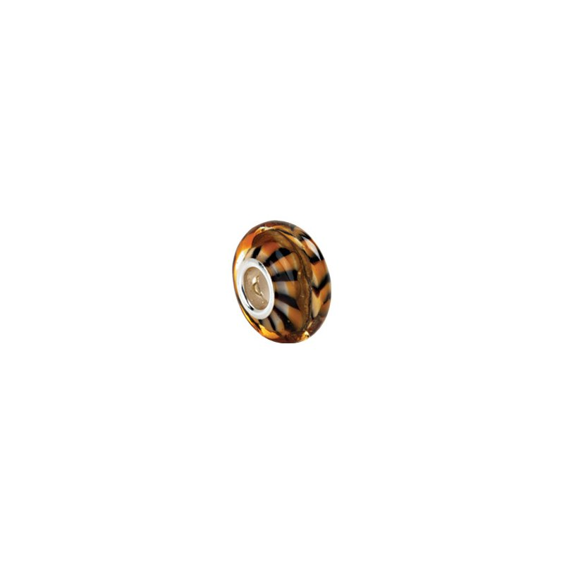 Holiday Ideas Kera Tiger Print Murano Glass Bead