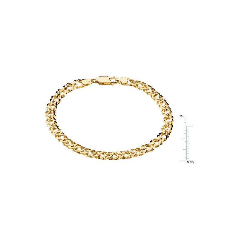 Men's Jewelry Curb link Bracelet