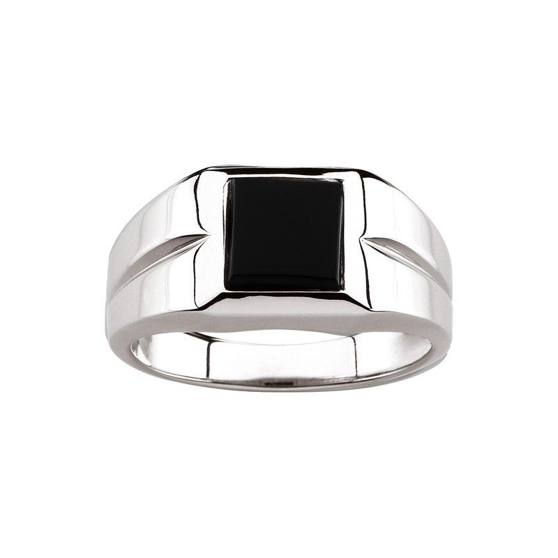 Men's Jewelry Genuine Onyx Ring