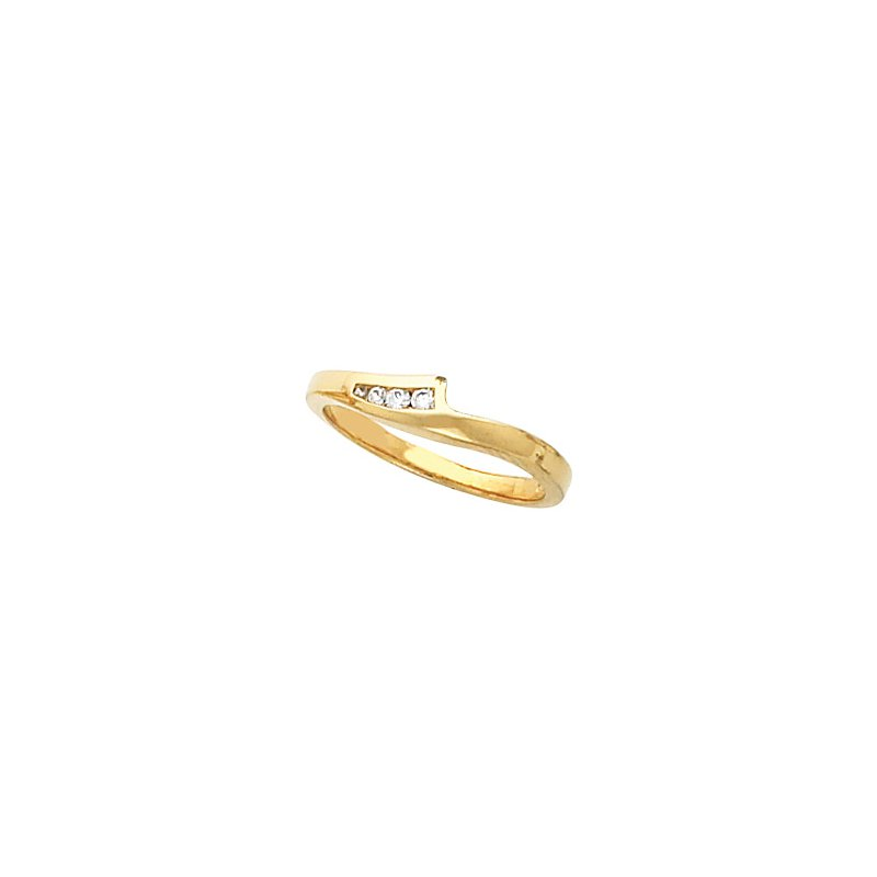 Susan Eisen .07 ct tw Diamond Wedding Band