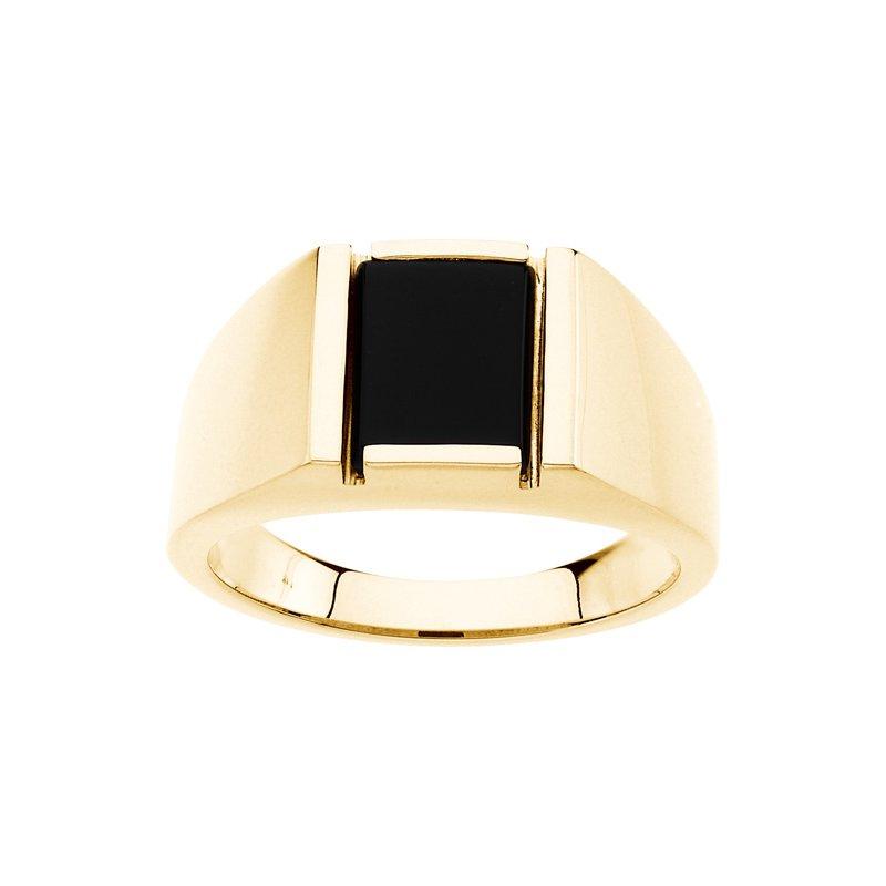 Men's Jewelry Men's Genuine Onyx Ring