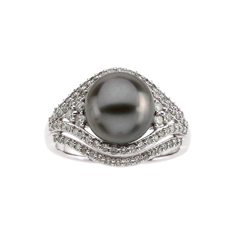 Ladies' Jewelry Tahitian Cultured Pearl Ring