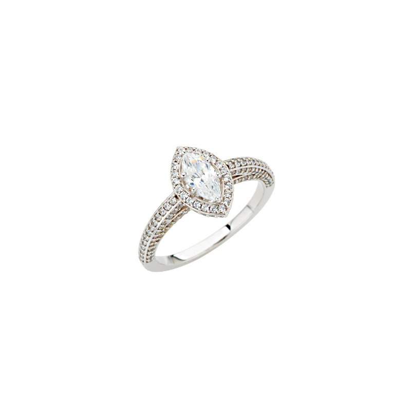 Holiday Ideas Semi-Mount Engagement Ring