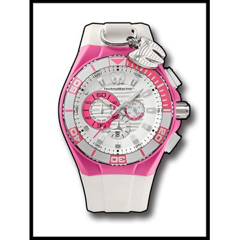 Techno Marine Watch Cruise Locker Pink