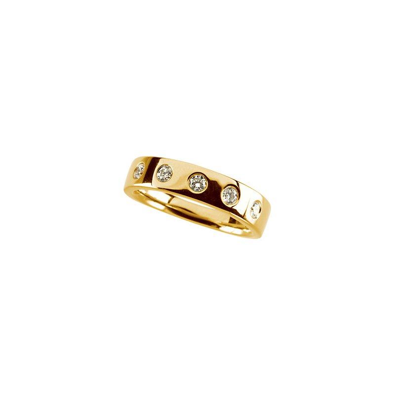 Ladies' Jewelry Diamond Stackable Ring