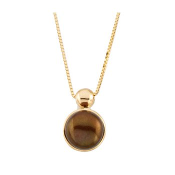 Freshwater Cultured Chocolate Pearl Necklace