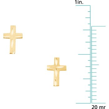 Children's Cross Earrings