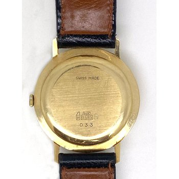 Gent's yellow gold Germinal Voltaire watch