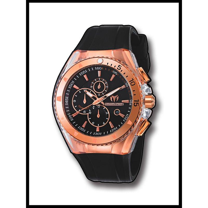 TechnoMarine TechnoMarine Watch Cruise Star-45mm Black